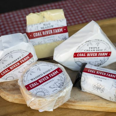 Coal River Farm Dairy 5 cheese