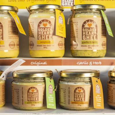 Golden Heart Ghee Pantry + Kitchen caramel