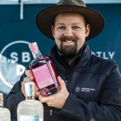Spring Bay Distillery Spirits pink gin