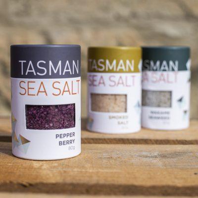 Tasman Seasalt Kitchen + Pantry salt selection