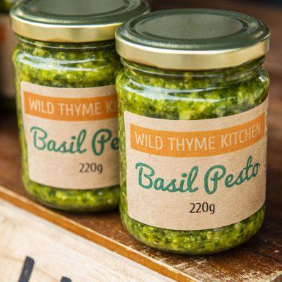Wild Thyme Kitchen + Pantry pesto singles