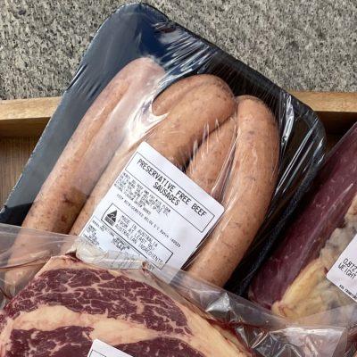 Oldway Farm Butchery sausages